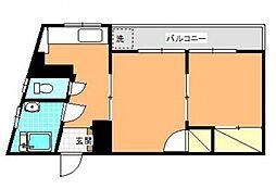 甲南ビル[301号室号室]の間取り