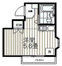 トラスティ永山[411号室]の間取り