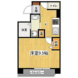 ファービースコート東野[4階]の間取り