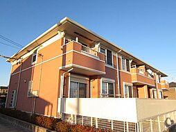 愛知県弥富市平島東1丁目の賃貸アパートの外観