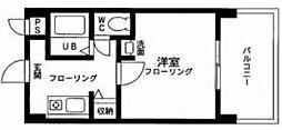 クリエイト小柳[2階]の間取り