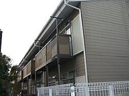 千葉県市川市南大野3丁目の賃貸アパートの外観