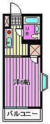 ケーエムコーポ[2階]の間取り