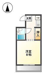 I.S大曽根[8階]の間取り