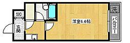 ヴァリー深井[2階]の間取り