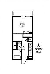 DUEX PRISM[3階]の間取り