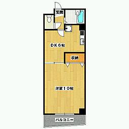 グランシャトレ[3階]の間取り