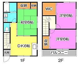 [テラスハウス] 東京都練馬区早宮4丁目 の賃貸【/】の間取り