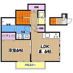 とかきハウス[2階]の間取り