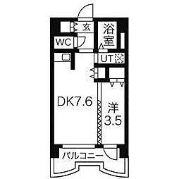札幌ビオス館[5階]の間取り