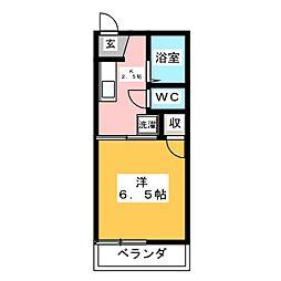 フォーブル15[1階]の間取り