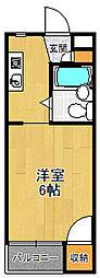 ジョイ立花[3階]の間取り