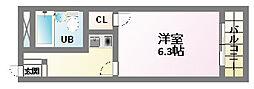 ノエルコート[2階]の間取り