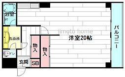 ルネ江坂[2階]の間取り