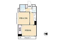 Mアルカディア[3階]の間取り
