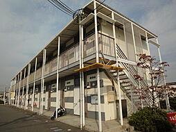 兵庫県姫路市岡田の賃貸アパートの外観