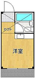 プチグレイス塚口本町参番館[1階]の間取り