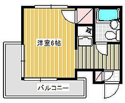Dessert inn Tsujido[207号室]の間取り