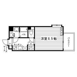 シュトラール千代田[2階]の間取り