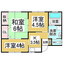 [一戸建] 長野県松本市大字寿豊丘 の賃貸【/】の間取り