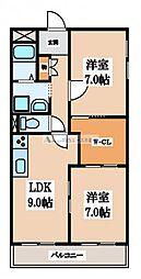 シティコーポ長田[6階]の間取り