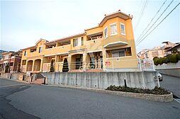 兵庫県神戸市須磨区東落合2丁目の賃貸アパートの外観