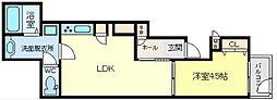 兵庫県神戸市垂水区宮本町の賃貸アパートの間取り