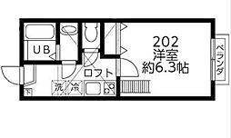DSコート・21[202号室]の間取り