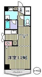 ロンディーヌII榴岡[5階]の間取り