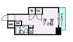グランデール京橋[3階]の間取り