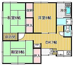 [一戸建] 茨城県取手市新取手2丁目 の賃貸【茨城県 / 取手市】の間取り