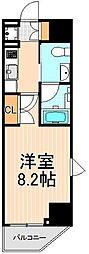 レアライズ浅草II[13階]の間取り