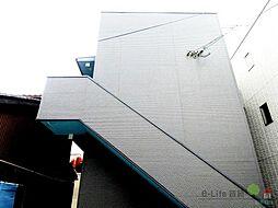 大阪府大阪市東住吉区駒川3丁目の賃貸アパートの外観