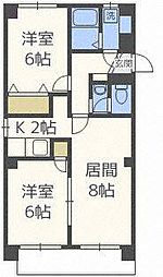 マイクレストN20[4階]の間取り