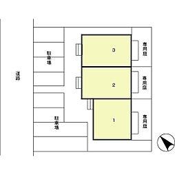 [テラスハウス] 石川県金沢市鞍月5丁目 の賃貸【/】の外観
