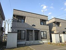 [タウンハウス] 北海道札幌市北区あいの里一条3丁目 の賃貸【/】の外観