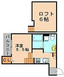 オーガスタ[1階]の間取り