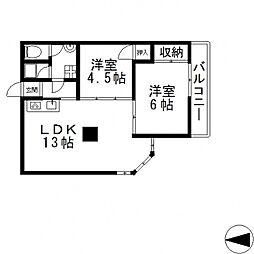 マンション99[301号室号室]の間取り