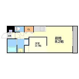 Roxana Residence[4階]の間取り
