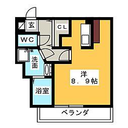 メゾン浅井[3階]の間取り