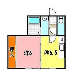 西新町駅 4.6万円