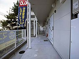 兵庫県神戸市北区鈴蘭台西町1丁目の賃貸アパートの外観