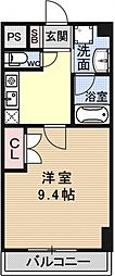 ソフィアコート[605号室号室]の間取り