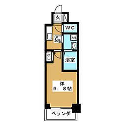 S RESIDENCE鶴舞[8階]の間取り