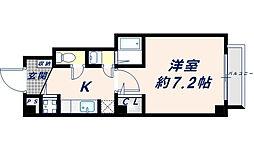 ラフォーレ長田[1階]の間取り
