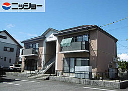 サンフルール岸岡B[2階]の外観