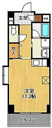 スクエアMK2[4階]の間取り