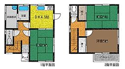 [一戸建] 神奈川県茅ヶ崎市今宿 の賃貸【/】の間取り