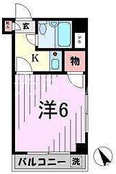 アセテック清瀬[5階]の間取り