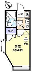 プレミール伊藤[2階]の間取り